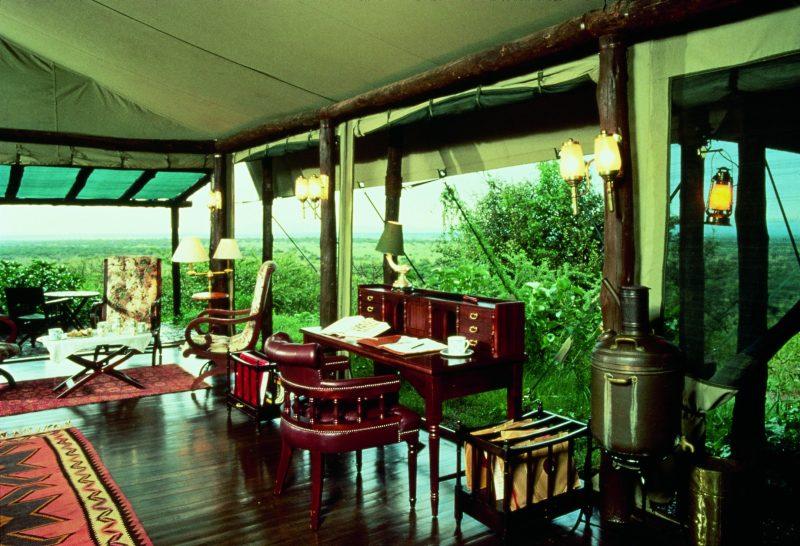 Kirawira-Camp